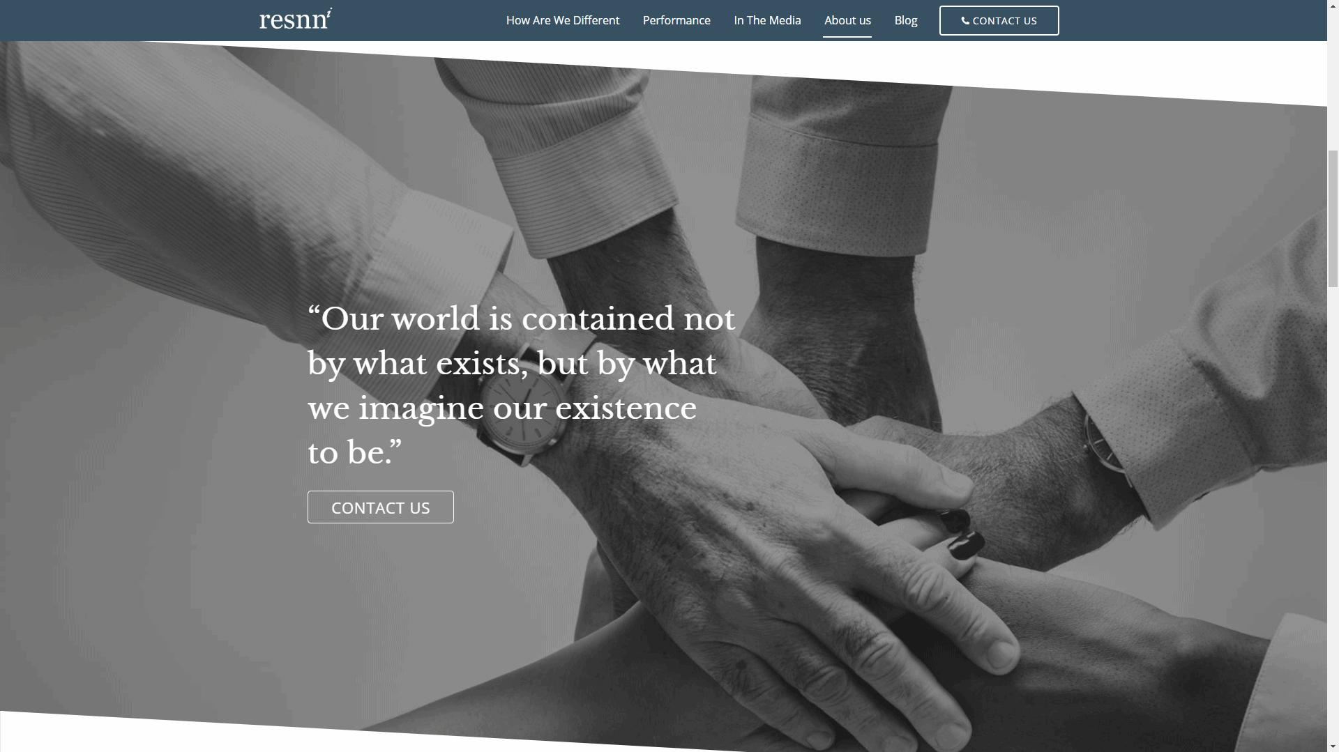 RESNN Investments - Corporate Website Design