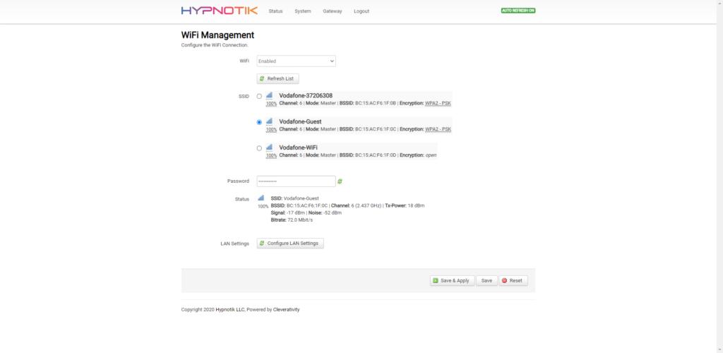 OpenWRT's LUCI Interface Customization