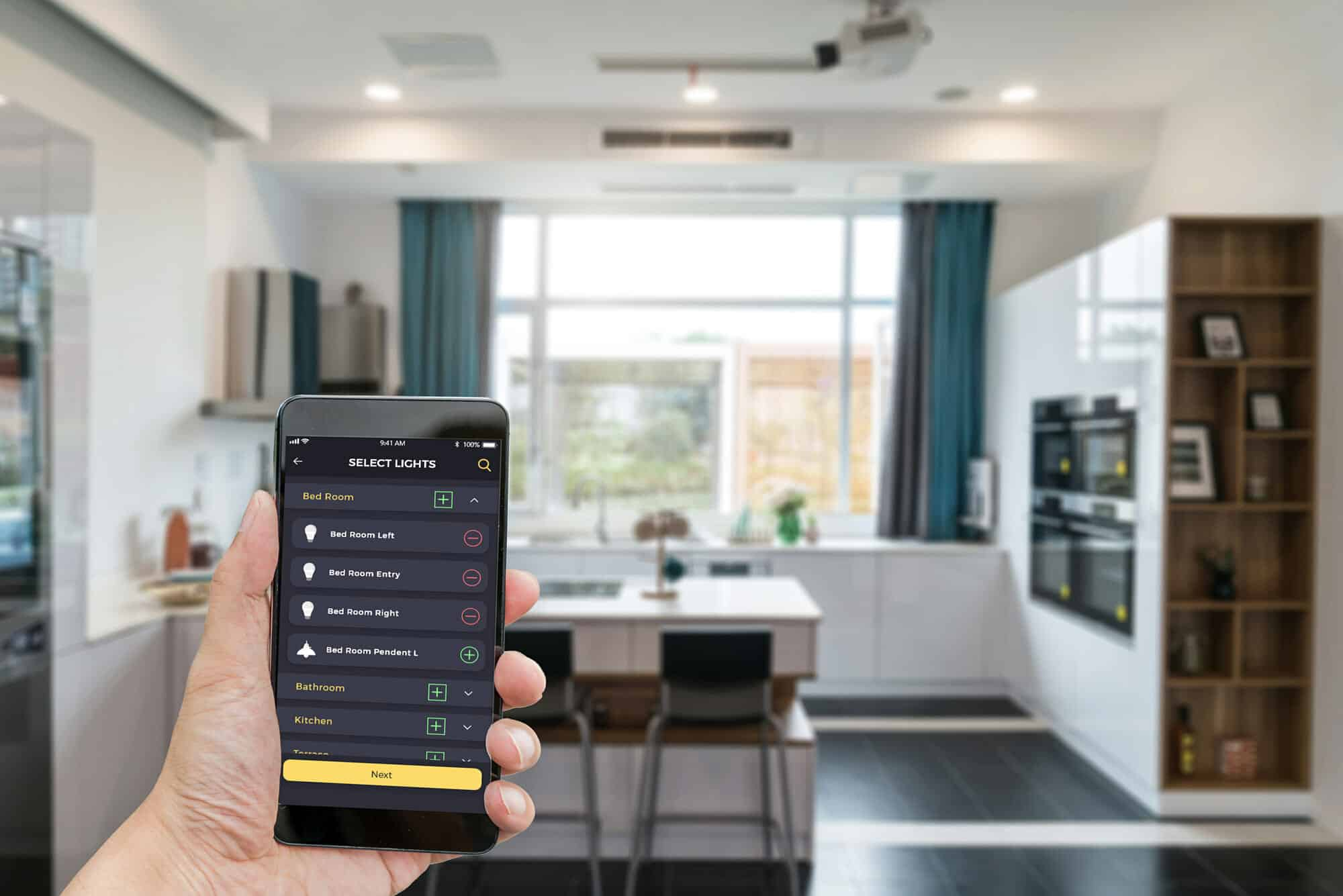 Cross-Platform Android/iOS App for Smart Home Automation