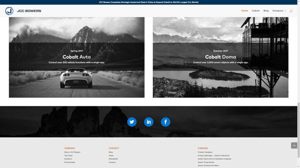 JCC Bowers – Corporate Website Design
