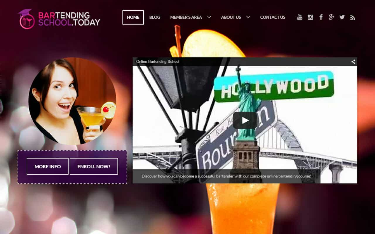 Online Bartending School – BartendingSchool.Today