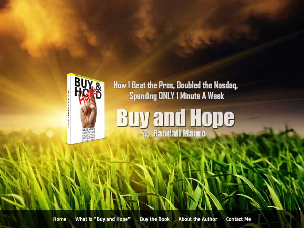 How to invest safely: Buy and Hope by Randall Mauro